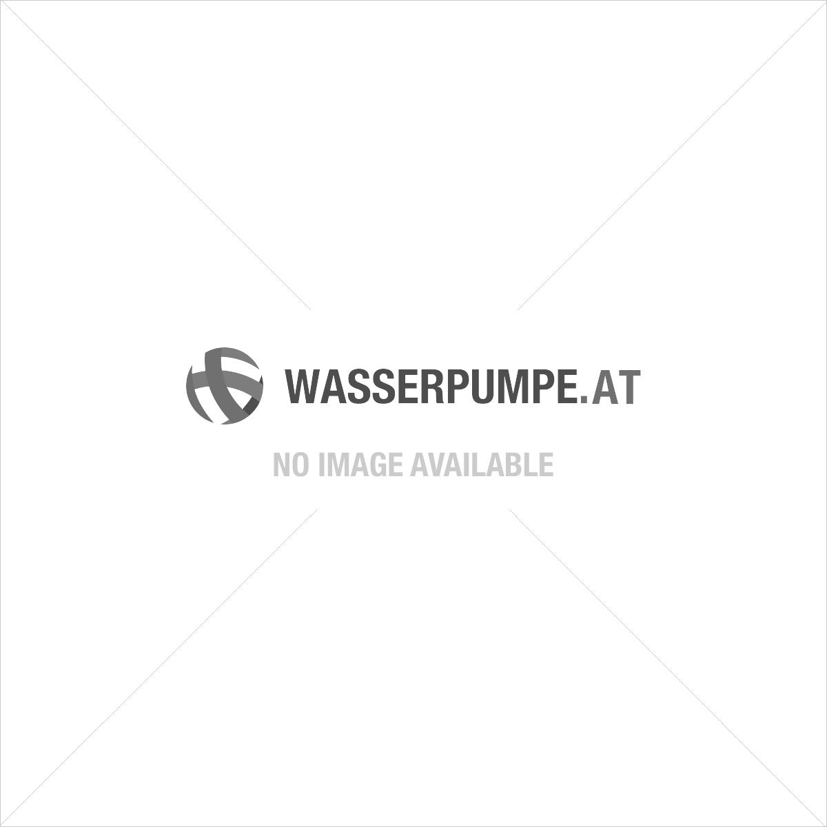 """PE Klemmverschluss Kniestück 90º 16 mm - ½"""" (Außengewinde)"""