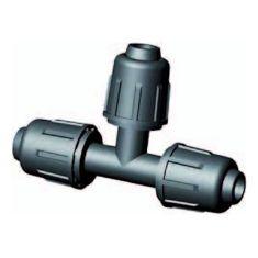 Tropfschlauch Klemmverschluss T-Stück 90º 16 mm